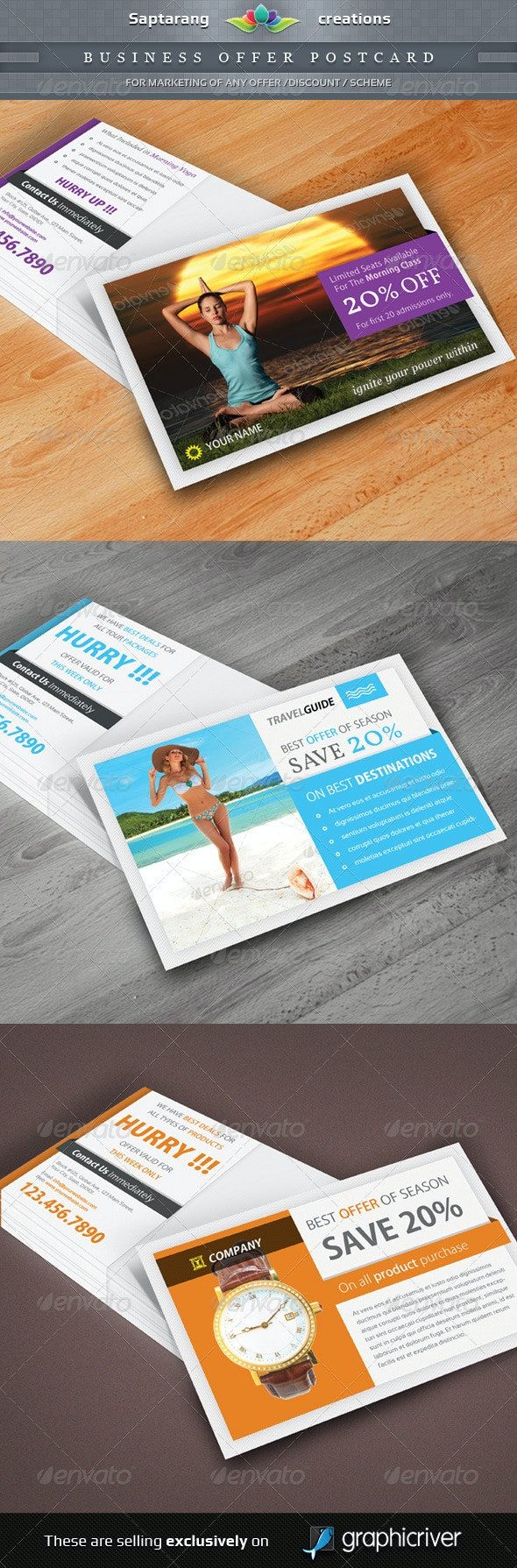 Business Offer Postcard - Stationery Print Templates