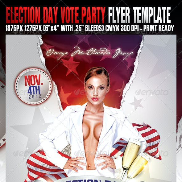 Election Day Vote Party