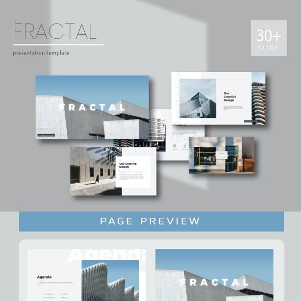 Fractal Multipurpose Presentation (key)