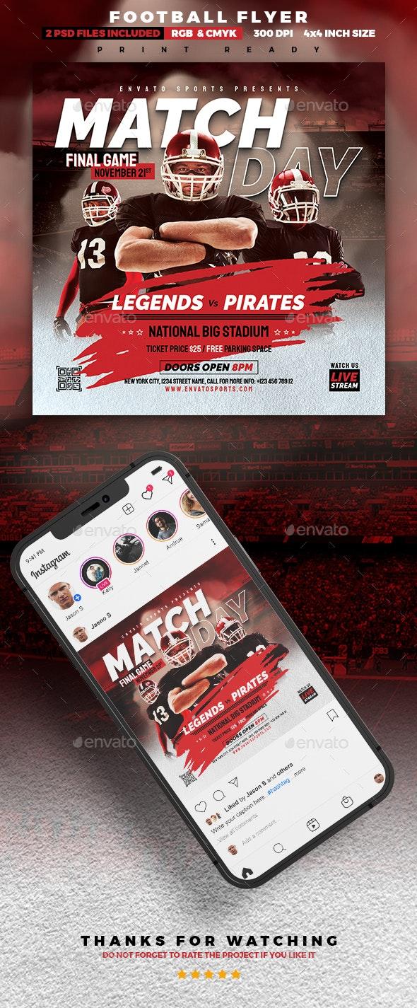 Final Match Football Flyer - Sports Events