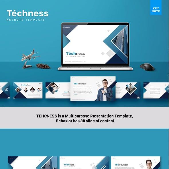 Techness - Keynote Template