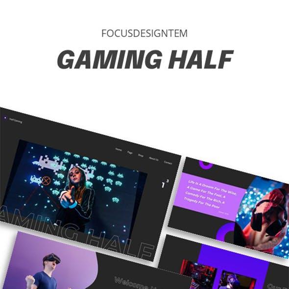 Gaming Half Keynote Template