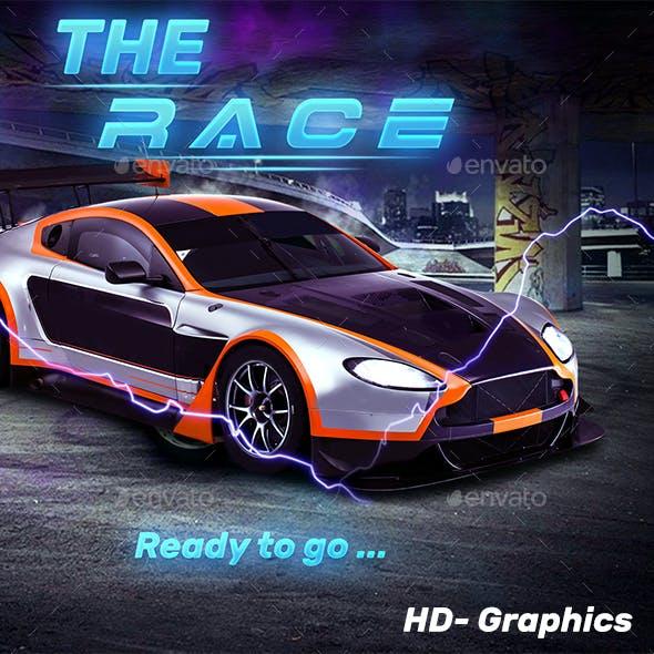 Car Racing-Simulator-UI