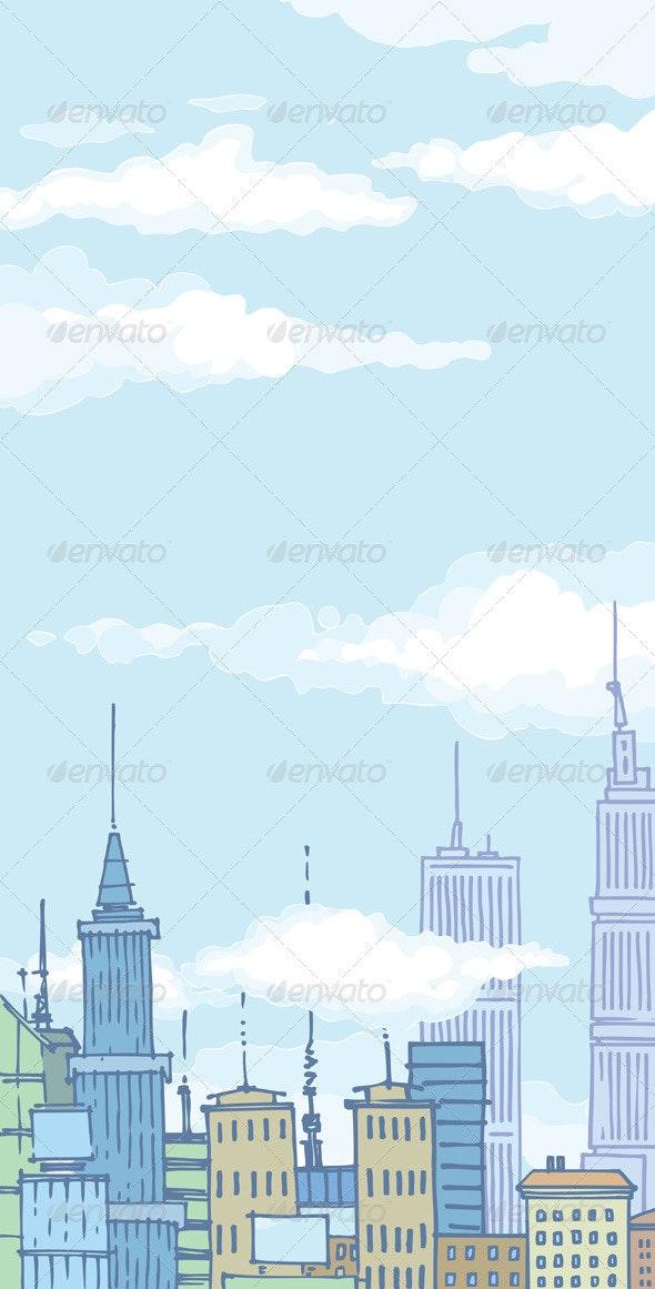Huge City Buildings - Buildings Objects