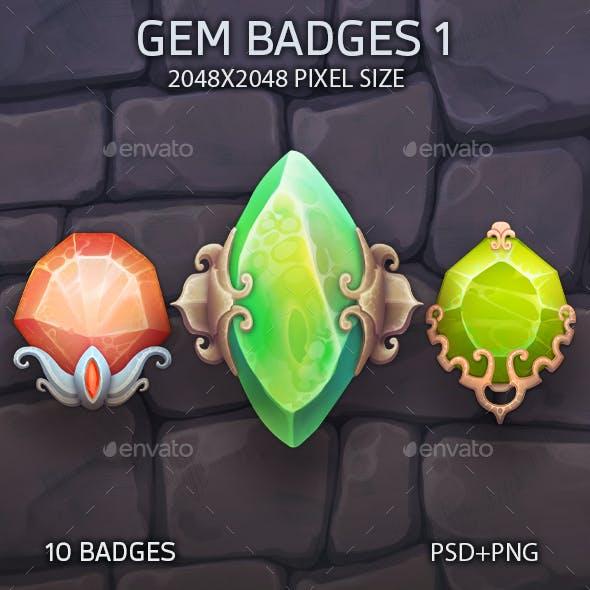 Gem Badges 1