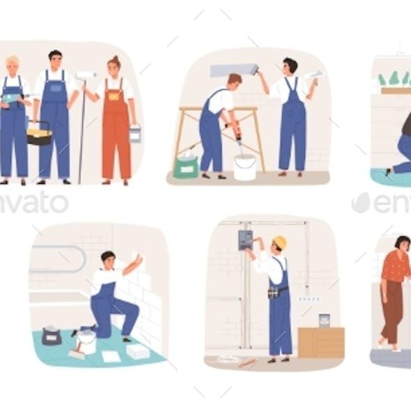 Home Masters and Repairmen Set