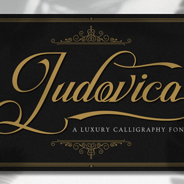 Ludovica -  A Modern Calligraphy Font