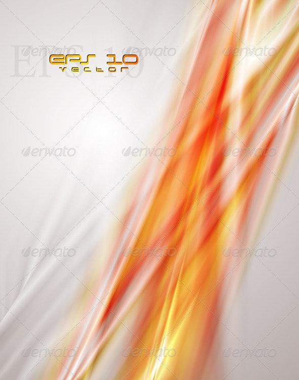 Bright orange vector background - Backgrounds Decorative