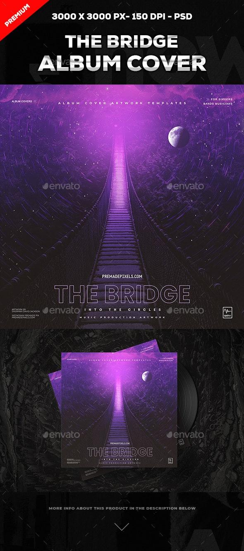 The Bridge Album Cover Art - Social Media Web Elements