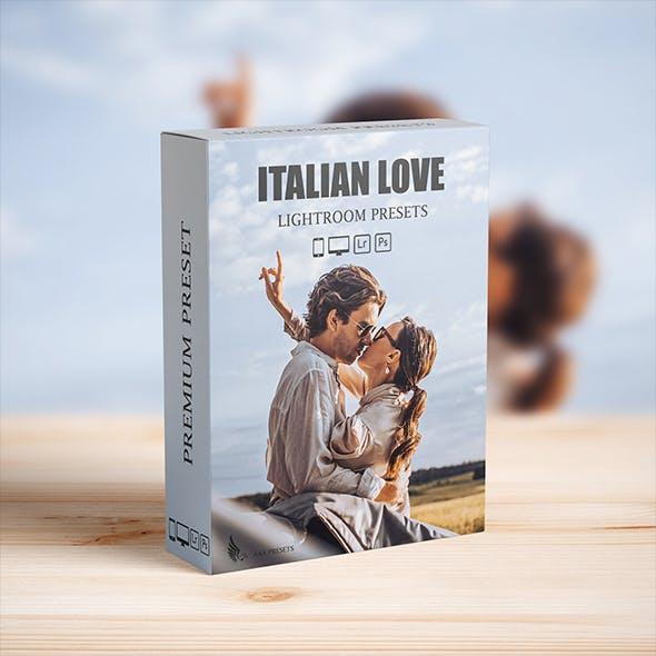 Italian Wedding Lightroom Presets for Mobile and desktop