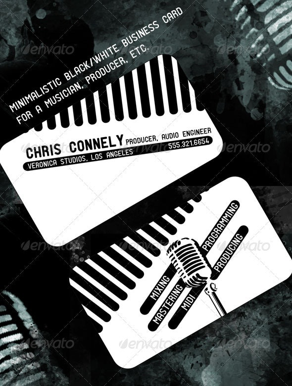 Minimalistic Business Card - Industry Specific Business Cards