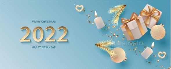 Christmas and New Year Banner - Christmas Seasons/Holidays