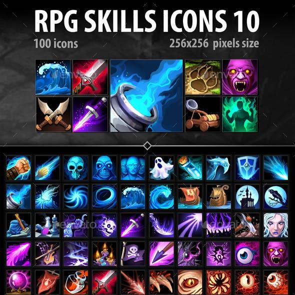 RPG Skills Icons 10