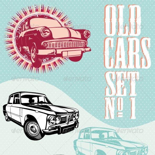 Old cars set NO.1