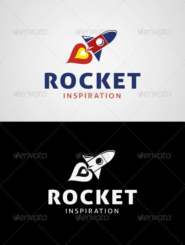 Rocket Inspiration Logo Template - Objects Logo Templates