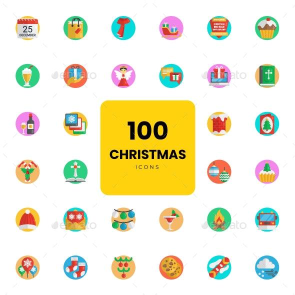 Christmas icons - Icons
