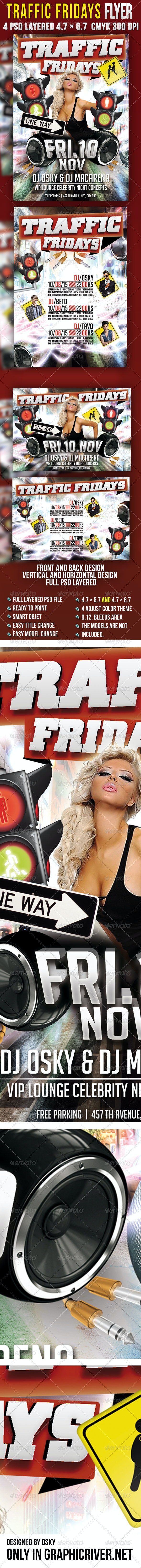 Traffic Fridays - Clubs & Parties Events