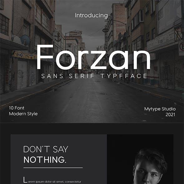 Forzan - Sans Serif