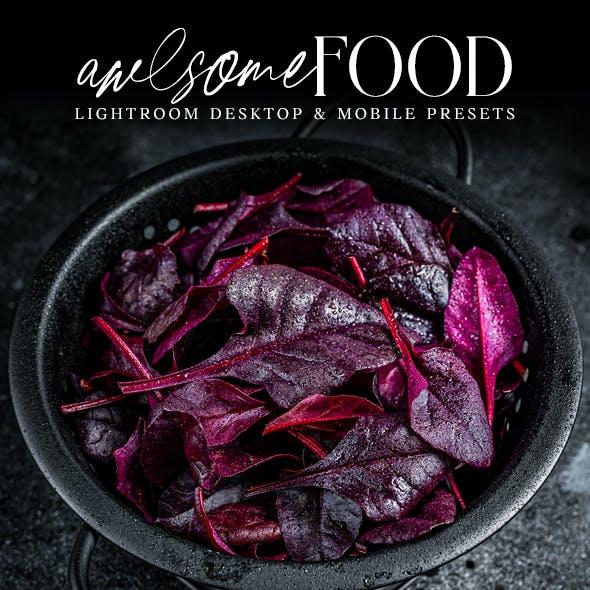 Awesome Food Lightroom Desktop And Mobile Presets