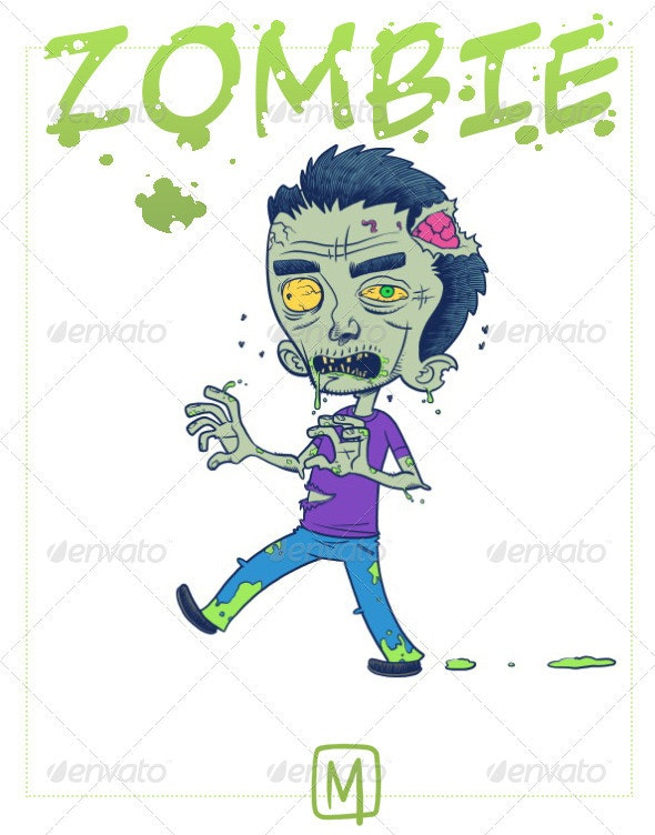 Zombie - Characters Illustrations