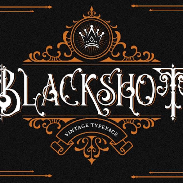 Blackshot - Blackletter Font