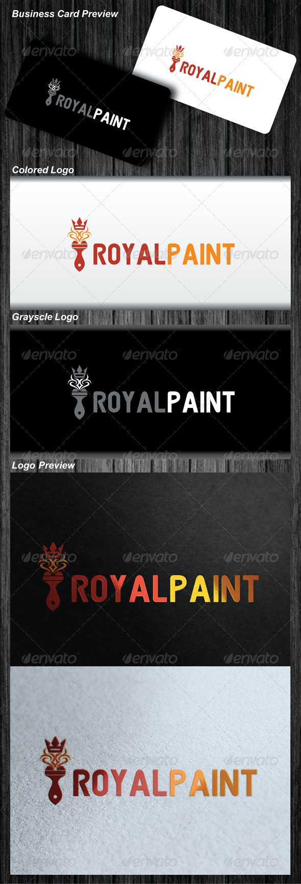 Royal Paint Logo - Symbols Logo Templates