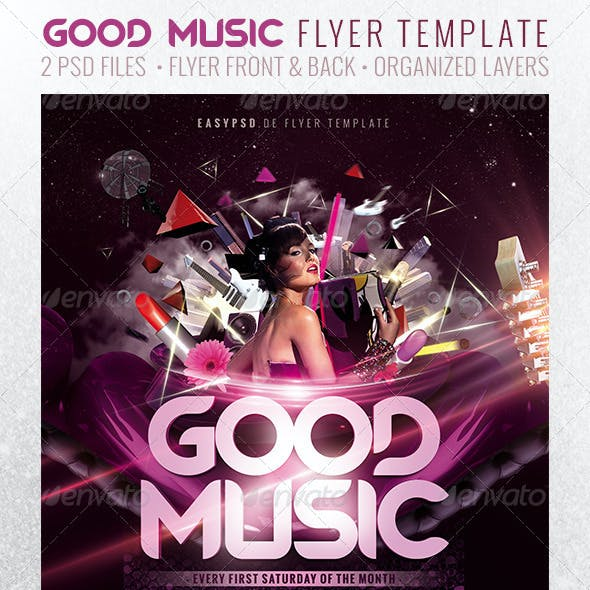 GOOD MUSIC Flyer Template