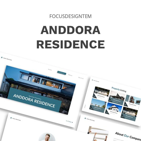 Andorra Real Estate Keynote Template