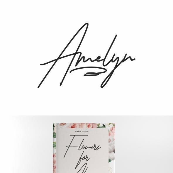 Amelyn Signature Font