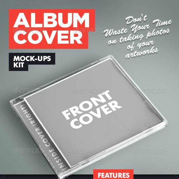 Album Cover Mock-Ups Kit