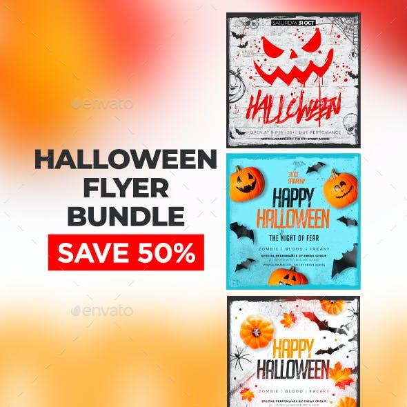 Halloween Flyer Bundle