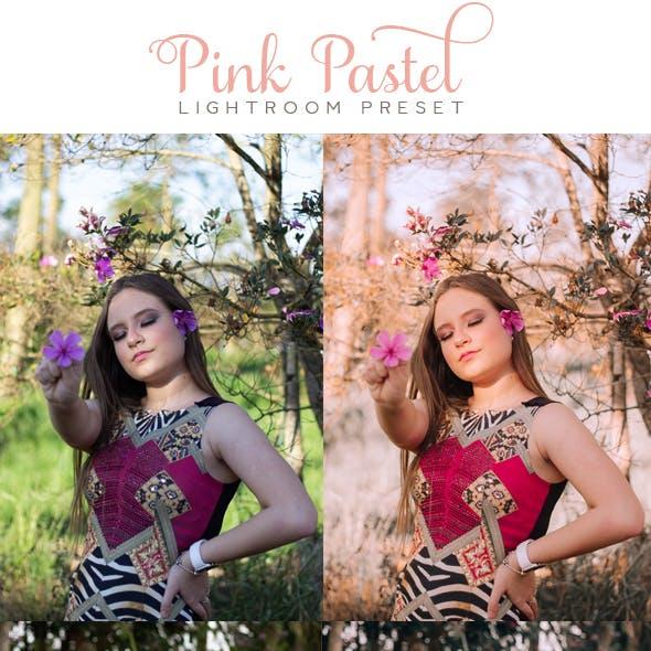 Pink Pastel Lightroom Presets
