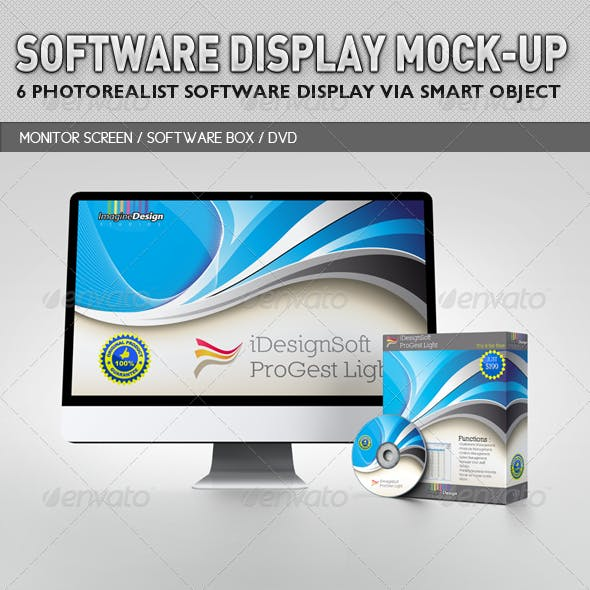 Software Display Mock-up