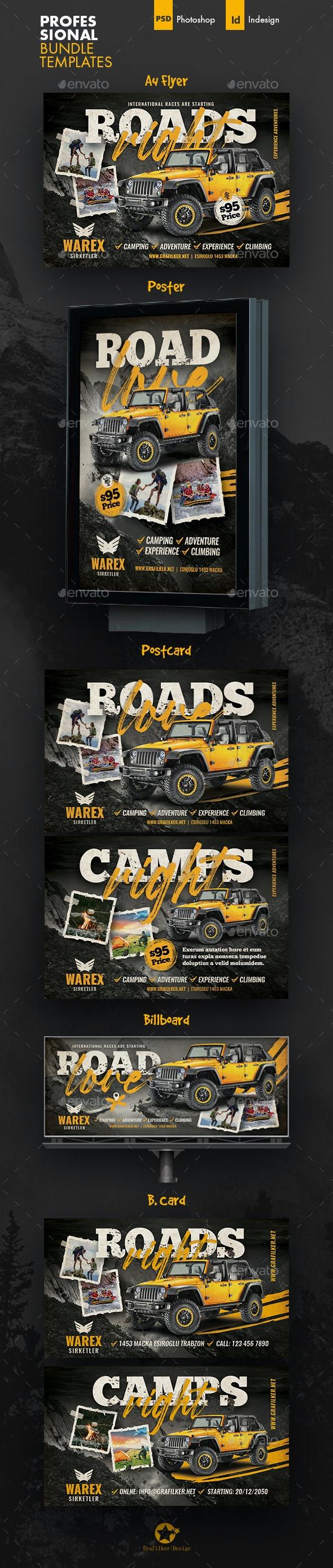 Off Road Bundle Templates - Events Flyers