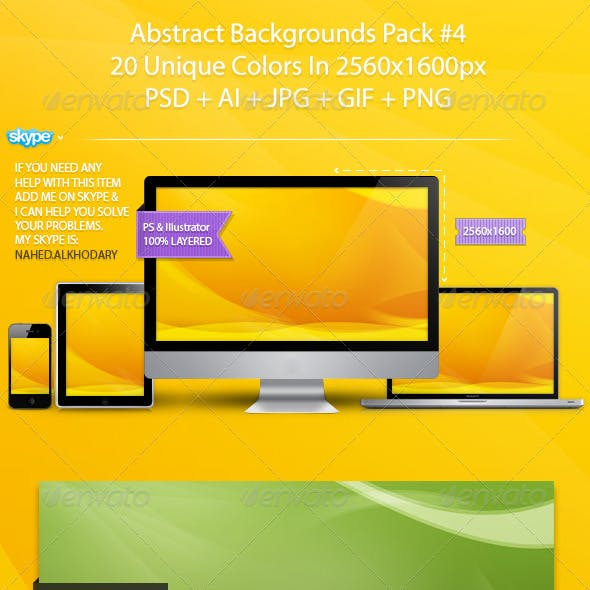 Abstract Backgrounds Pack 04