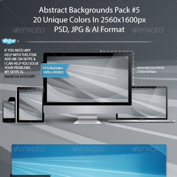 Abstract Backgrounds Pack 05