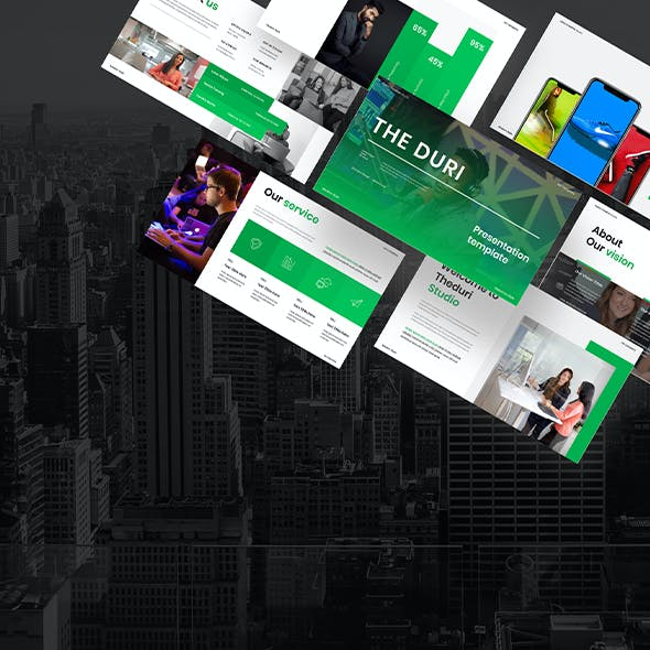Theduri – Business Keynote Template
