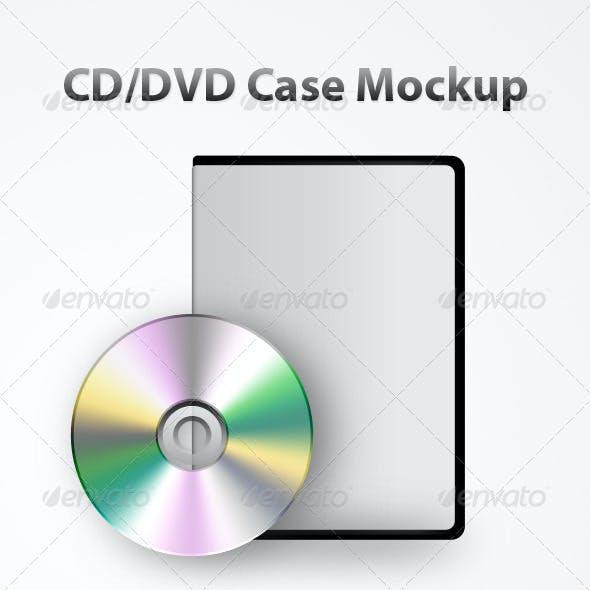 CD/DVD Case Mockup