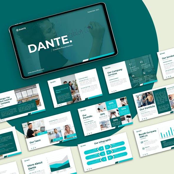 Dante - Creative Business Google Slide Template