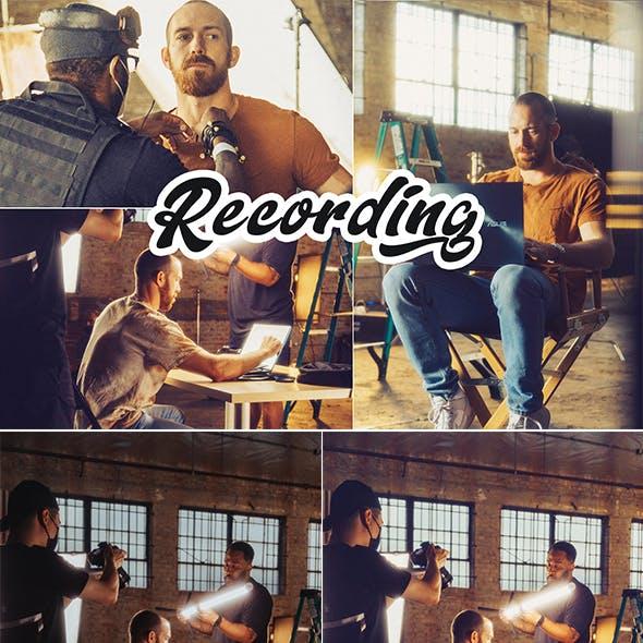 Recording Photoshop Action