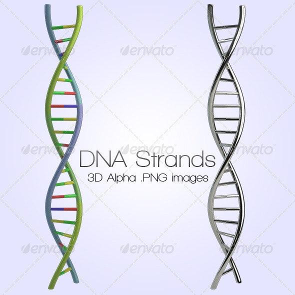 DNA - Miscellaneous 3D Renders