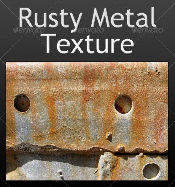 A Unique Rusty Metal Texture - Metal Textures
