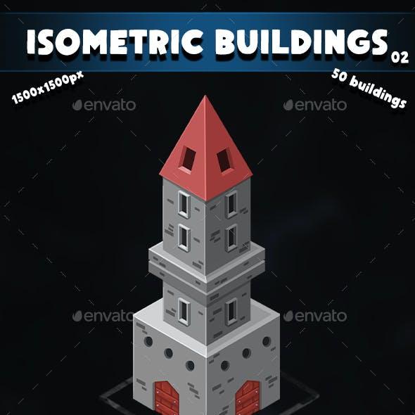 Isometric Buildings 02