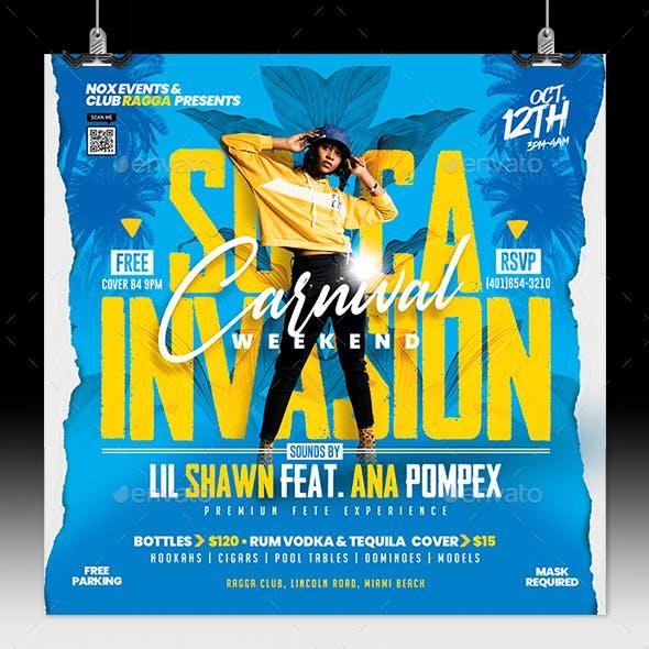 Soca Invasion Carnival Party