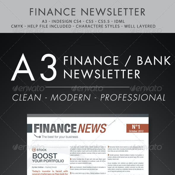 Finance and Business Newsletter