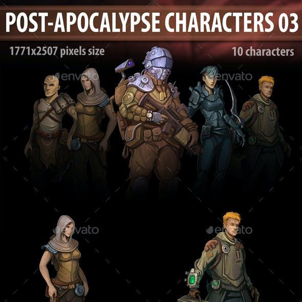Post Apocalypse Characters 03