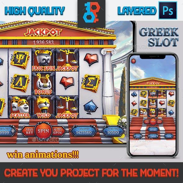 Greek Foundation Slot Game