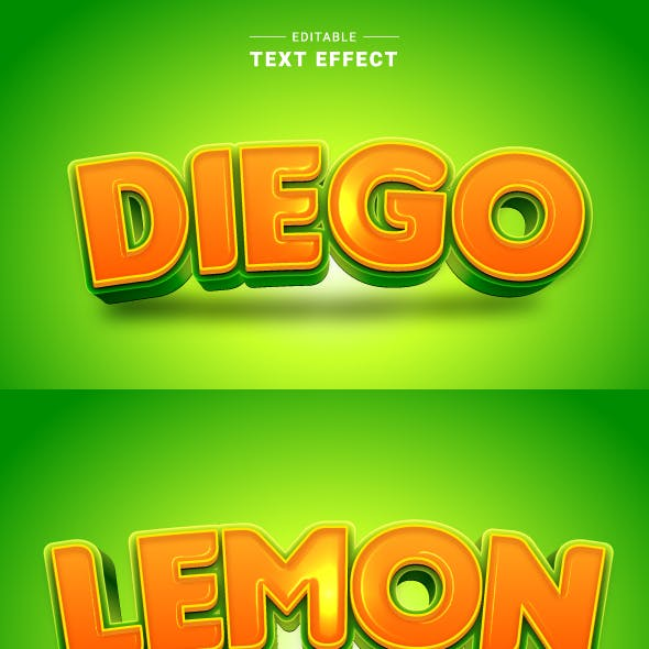 """Editable """"Game Logo Text Effects"""" for Illustrator"""