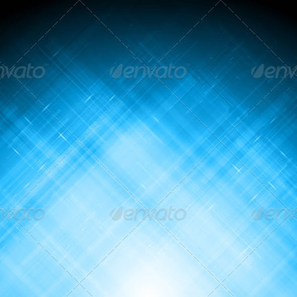 Abstract blue backdrop