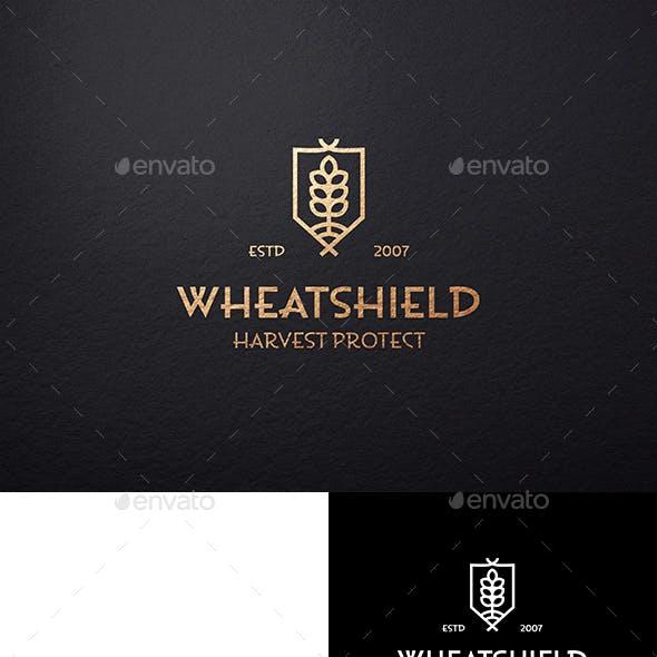 Wheat Shield Logo